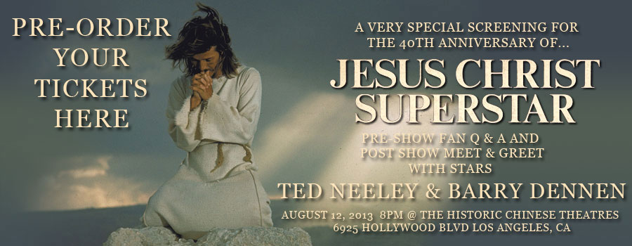 Jesus christ superstar ted neeley tells the inside story song writing august 16 2013 marks the 40 year anniversary of the films premiere and neeley is launching what looks to become a worldwide tour of movie theatres m4hsunfo