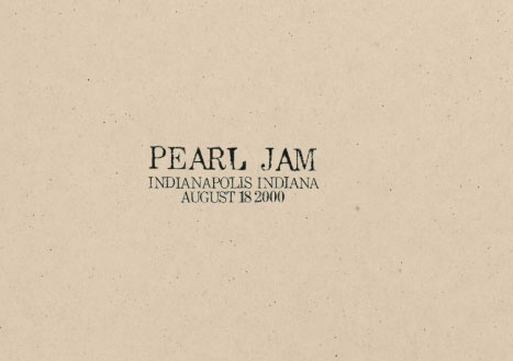 Seven Pearl Jam Bootlegs Make Chart - March 17, 2001