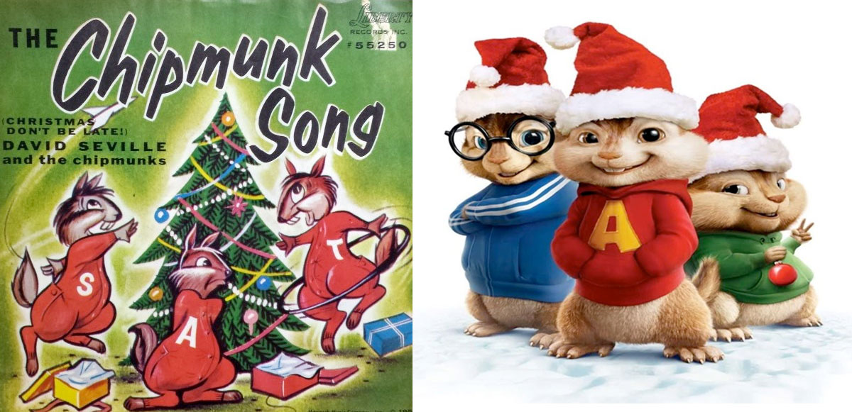 The Chipmunk Song by The Chipmunks - Song Images